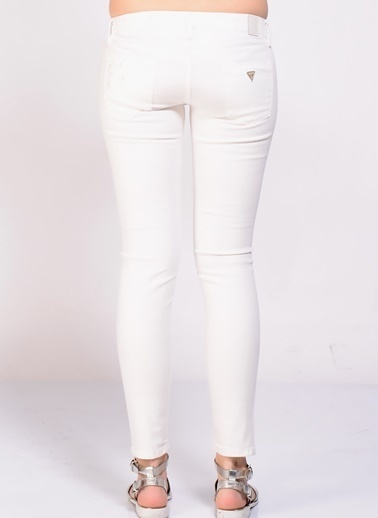 Guess Jean Pantolon Beyaz